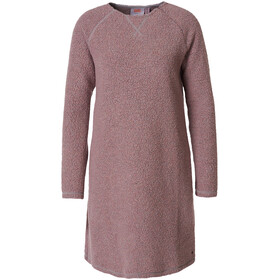Varg Fårö Long Wool Dress Women burned pink